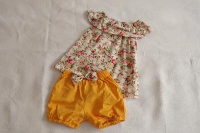 Chic & Cheap blog - Ensemble jaune en coton fille 3 (3)