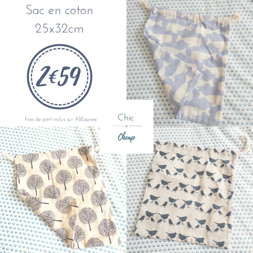 Chic & Cheap blog - Sac en coton (1)