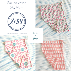 Chic & Cheap blog - Sac en coton (2)